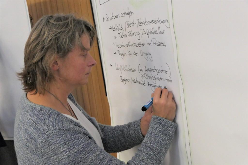Vorbereitung der Praesentation Sandra Boehm